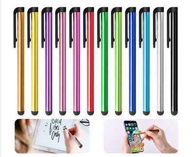 10Pack Stylus For iphone ipad galaxy Stylists Pens Compa Chromebook Touchscreen