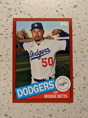 MOOKIE BETTS 2020 Topps 85 Topps Red 85TB-22 0210