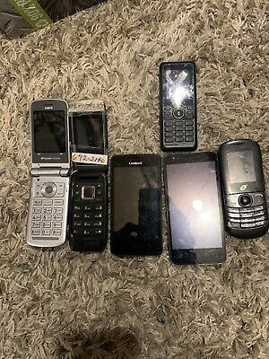 lot of Cell phones working