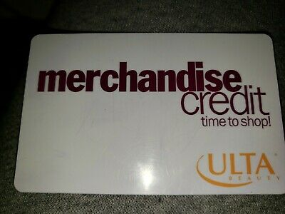 ULTA GIFT CARD - IN STORE ONLY 41-49