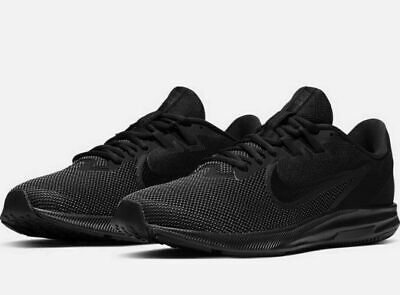 Nike Downshifter 9 Mens Running Shoes AQ7481 005 Black Anthracite New In Box