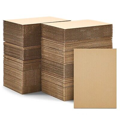 200 Pack Corrugated Cardboard Sheets Inserts for Packing Mailing Crafts 5x7