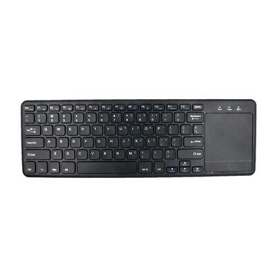 Keyboard in English and French 2.4G Wireless Keyboard for Tablet Desktop wi Q1Q9