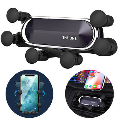 360° Auto Car Air Vent Mount Gravity Holder Stand For iPhoneSamsungCell Phone
