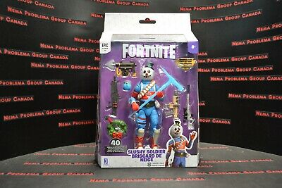 Fortnite Slushy Soldier Legendary Series action figure with accessories