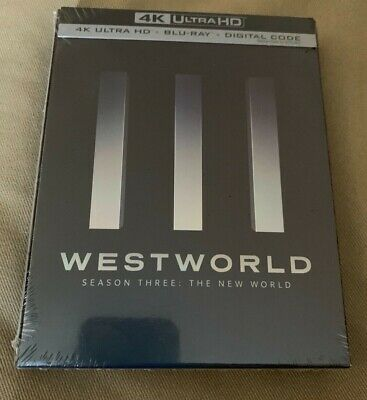 Westworld Season Three 4K Ultra HD Blu ray Digital Brand New Thandie Newton