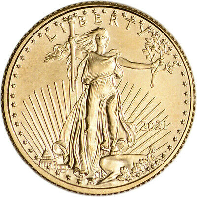 2021 American Gold Eagle 110 oz 5 - BU