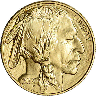 2021 American Gold Buffalo 1 oz 50 - BU