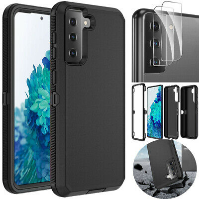 For Samsung Galaxy S21 5G Case Shockproof Defender Cover - Camera Lens Protector