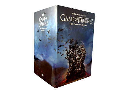 Game of Thrones Complete Series Seasons 1-8  DVD 38 DISC)Brand New seal Free S