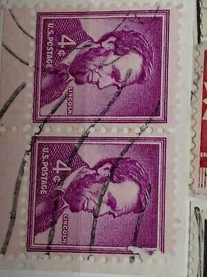 4 Cent Stamp How Much Is It Going For Lincoln 4 cent stamp