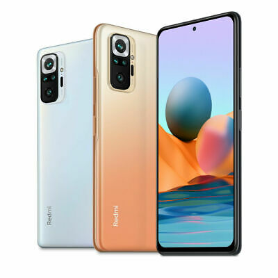 "Xiaomi Redmi Note 10 Pro 8GB 128GB Handy 6,67"" 120Hz 108MP Smartphone EU Version"