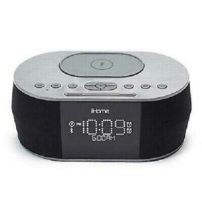 iHome Bluetooth Stereo Speaker System Wdual Alarm Clock - Dual Charging SSS 693