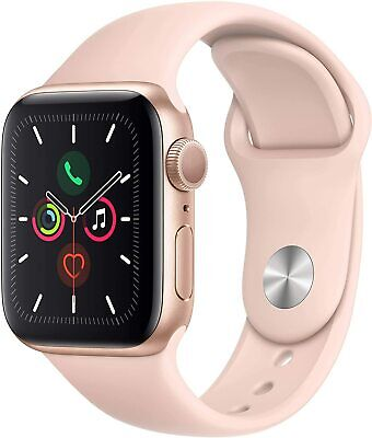 Apple Watch Series 4 GPS 40MM Gold Aluminum Case - Pink Sport Band Bad Condition