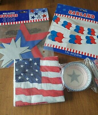 4TH OF JULY DECORATIONS PARTY SUPPLIES