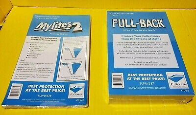 50  FULL-BACK 700FB - 50 MYLITES2 725M2 STANDARD- BY E-GERBER- FREE SHIP