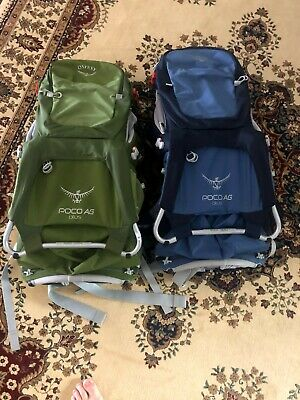 osprey poco plus child carrier- two carriers for sale