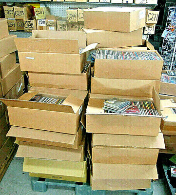 NEW LOT OF 200 CDs ASSORTED MIX OF ARTISTS STYLES - GENRES