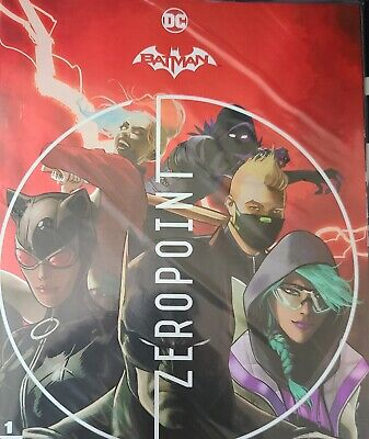 Batman Fortnite Zeropoint 1  Sealed with code Cover A 1st Print