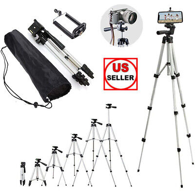 Professional Camera Tripod Stand - Phone Holder For Smartphone Samsung iPhone