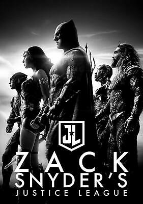 LOOK Zack Snyders Justice League 2021 Collectible on BD NEW