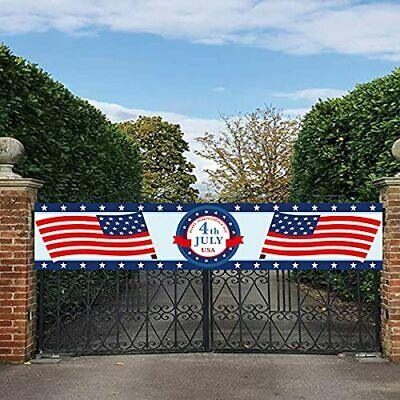 4thFourth of July Independence day Banner - Patriotic Decorations4th of July