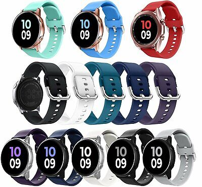 For Samsung Galaxy Watch Active 2 40mm44mm Watch Band Silicone Sport Strap