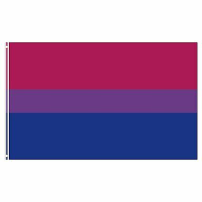 3x5 Ft Bi Pride Polyester Flag Bisexual Flag Double Stitched Canvas Header