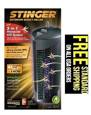 Electric STINGER Mosquito bug trap Zapper Killer Insect Fly pest control lamp