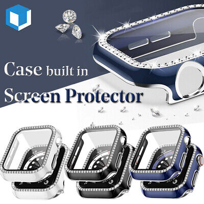 For iWatch Apple Watch Series 456SE Full Protect Case- Screen Protector Cover