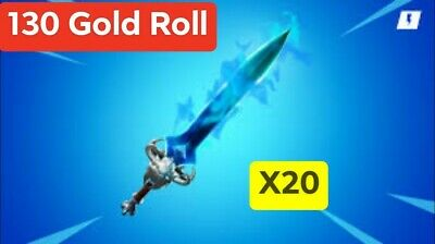 Fortnite Save The World 130 Gold Roll Spectral Blade X20