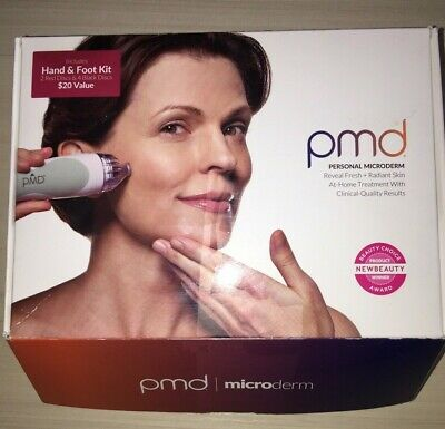 PMD Personal Microderm FaceHandFoot Kit all Included New Open Box
