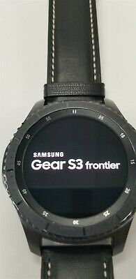 Samsung Gear S3 Frontier SM-R760 46mm Black Bluetooth DISCOUNTED TW1023