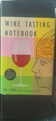 Wine Tasting Notebook by Steve De Long Book The Fast Free Shipping