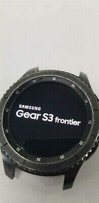 Samsung Gear S3 Frontier SM-R760 46mm Black Bluetooth DISCOUNTED TW1036