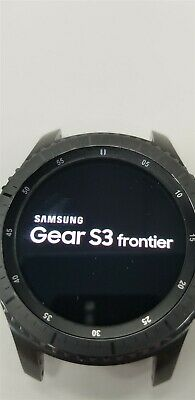 Samsung Gear S3 Frontier SM-R760 46mm Black Bluetooth DISCOUNTED TW1039
