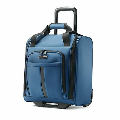 NEW Samsonite CONTROLL 4-0 Boarding Bag Luggage Carry On BLUE Underseat 280