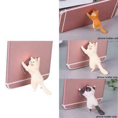 Cute Cat Desktop Stand Phone Holder Accessories For Mobile Phones N8E9