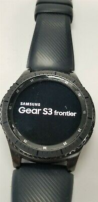 Samsung Gear S3 Frontier SM-R760 46mm Black Bluetooth DISCOUNTED TW1068