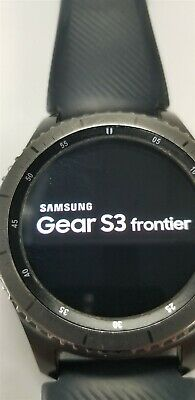 Samsung Gear S3 Frontier SM-R760 46mm Black Bluetooth DISCOUNTED TW1070