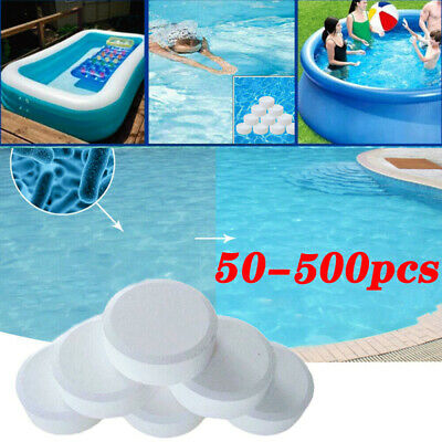 50500 Chlorine Tablets Multifunction Instant Disinfection For Swimming Pool Tub