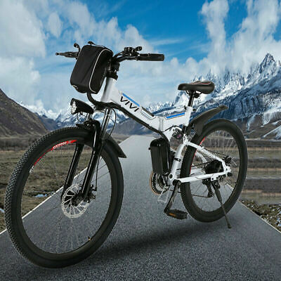 26 Electric Bike Mountain Bicycle EBike 21*Speed 350W Removeable Battery Cool……
