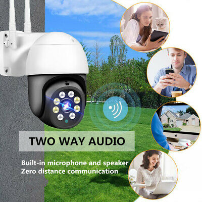 HD 1080P 360° Outdoor security camera Home Pet baby night vision 2021