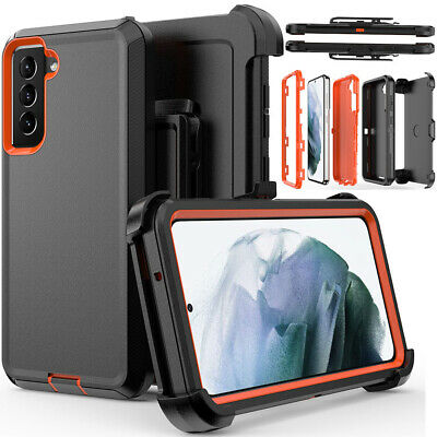 For Samsung Galaxy S21 FE Case Shockproof Belt Clip Stand Cover Fits Otterbox