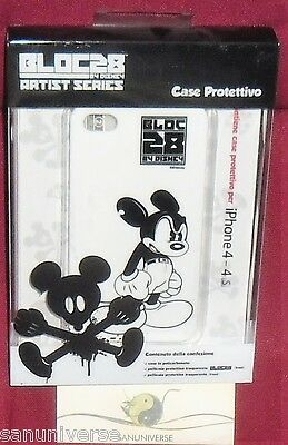 I PHONE COVER CELLULARE SMARTPHONE 4 S DISNEY ARTIST,ANGRY MICKEY MOUSE TOPOLINO