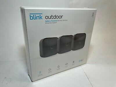 Blink Outdoor Newest 2020 model HD Security Camera System - 3 Camera Kit