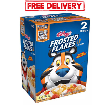 Kelloggs Frosted Flakes Cereal 55 oz-