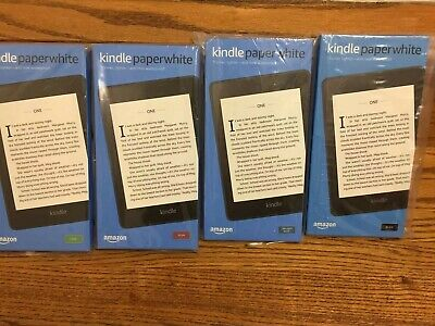 New Amazon Kindle Paperwhite 10th 32GB Wi-Fi Black Blue Plum Sage Ad-support