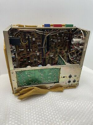 VINTAGE CARTRIVISION FISH TANK VIDEO PLAYER ELECTRONIC BOX ONLY - PARTS REPAIR
