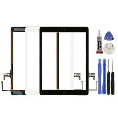 For iPad Air A1474 1475 1476 Touch Screen Glass panel -Home Button Replacement